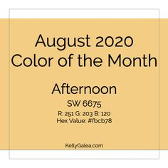 August 2020 Color of the Month & Energy Reading - Through the Kaleidoscope with Kelly Galea