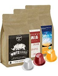100% USDA Certified Organic Coffee - Nespresso Compatible Capsules - Artizan Coffee Blend (Variety Pack - 90 Pods)