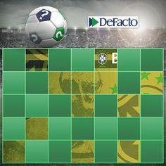 Futbolseverler için sürprizlerimiz bitmiyor! Twitter hesabımızı takip et, ipuçlarını topla! www.twitter.com/defactosocial