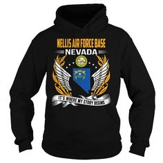 Nellis Air Force Base, Nevada It's Where My Story Begins T Shirts, Hoodies. Check price ==► https://www.sunfrog.com/States/Nellis-Air-Force-Base-Nevada--Its-Where-My-Story-Begins-103150091-Black-Hoodie.html?41382 $39.99