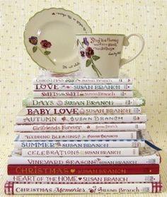 I love, love, love Susan Branch books!