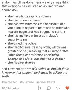 SERIOUSLY. #amberheard #johnnydepp #abuse