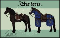 War Horse Saddlery by ValkAngie
