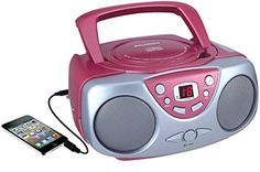 Curtis Sylvania Portable CD Player with AM/FM Radio, Boombox (Green) (Discontinued by Manufacturer) Cassette, Audio, Tvs, Bluetooth, Compact Disc, Stereo Headphones, Boombox, Kids Boxing, Ebay