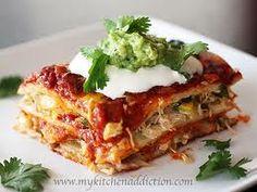 Mexican Chicken Lasagna Phase 3
