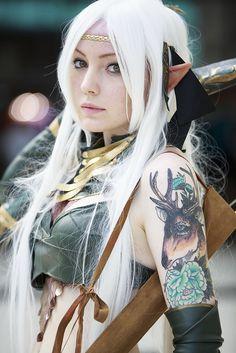 Elf #cosplay | Japan Expo 2013