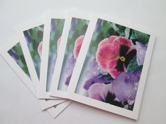 Blank Note Card Note Card Blank Photo Note Cards For Her Gift Cards Greeting Cards Any Occasion Card Photo Art Card Blank Floral Cards