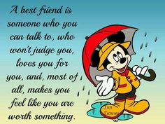 to me friends are icing on the cake - true friends stick closer than a brother & are there through thick & thin...