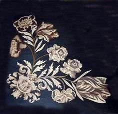 Restored marquetry, c1820. By originalmarquetry.co.uk