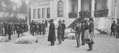 [Ottoman Empire] Sultan Mehmed V, Eid al-Adha (Sacrifice Feast) in the Ottoman Palace, 1911 (Osmanlı Kurban Bayramı)