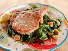 Get Lighter Fried Pork Chop Recipe from Food Network