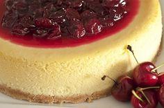 Cheesecake de Cerejas com Baunilha