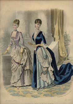 LA MODE ILLUSTREE  ... dated October 19, 1884