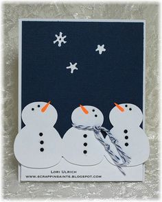 Papercrafts by SaintsRule!: Exploring Cricut ~ Baby It's Cold Outside!