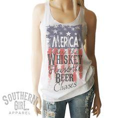 Merica Tank. Flag Shirt. American Flag. Merica. Merica Tank Top. Merica Shirt. American Flag Clothing. Patriotic. Southern. Country Girl