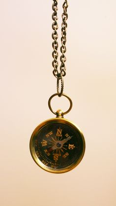 Gwendelicious Miniature Compass Necklace