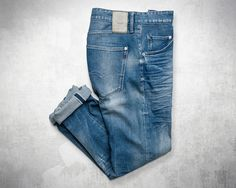 Denim aged to perfection.