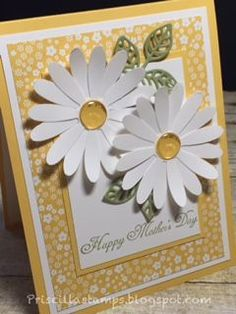 I have one more Mother's Day card to share today.  I had this card ready to share with you two weeks ago, but got admitted to a hospital for...