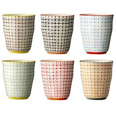 Bloomingville Carla Cups £6 each. Toothbrush holder?