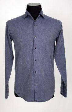 The Light Gray Denim Shirt