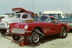 Vintage Drag Racing - Gasser - Corvette