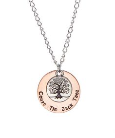 This Copper Tree of Life Pendant Necklace by Courtenay J Designs is perfect! #zulilyfinds