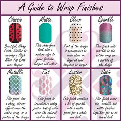 One thing I LOVE about Jamberry wraps is that they come in so many different finishes. I've only tried the classic, matte, clear, and sparkle so far. What's your favorite finish?  kathryncomstock.jamberrynails.com