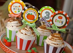 Pumpkin Patch Party Printable - Fall Birthday - Pumpkin Birthday - Pumpkin Party - Thanksgiving - Huge Party Set by Amanda's Parties TO GO Little Pumpkin Party, Pumpkin Patch Party, Pumpkin Baby, Happy Birthday Name, Art Birthday, Birthday Ideas, Birthday Boys, October Birthday, Pumpkin Birthday Parties