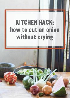 Onions add a lot of flavor to many dishes, but they can be difficult to prep! Try these easy tips to keep you from crying when you cut onions and make cooking easier. alli® weight loss aid can help you achieve a healthier you.