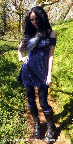 Morgana Mini Dress by Moonmaiden Gothic Clothing UK