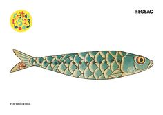 Sardinhas de Lisboa Competition Animal Coloring Pages, The Girl With The Dragon Tattoo, Illustration Sketches, Fish Art, Illustrations And Posters, Fish Illustration, Art, Mermaid Art, Fish Design