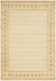 Rug SZK272C-Oria Flower - Safavieh Rugs - Suzanne Kasler Rugs - Wool & Silk Rugs - Area Rugs - Runner Rugs
