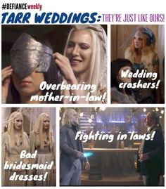 @Marsha Penner Penner Penner Crowe of Defiance: We think it was @Jaime Murray or @TonyCurran69 who leaked these pics to the tabloids... #Defiance