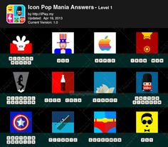 Icon Pop Mania Answers