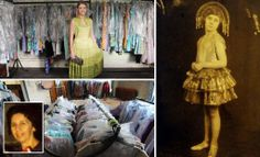 Vintage clothes worth £100,000 discovered in home of war widowThe real life Miss Havisham: War widow dies leaving behind £100,000 treasure trove of designer clothes she collected over 70 years - and NEVER WORE...!!!!!