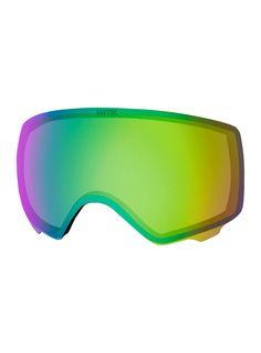 Anon Women's Anon WM1 Sonar Lens, SONAR Green (23% VLT) Snowboard Goggles, Ski And Snowboard, Fashion Eye Glasses, Lenses, Mirrored Sunglasses, Winter, Green, Clarity, Contrast