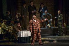 - Premiere night (20 february) / Seara premierei (20 februarie) - prim plan/forefront Lucian Petrean (Rigoletto)
