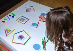 Géométrie: Les Polygones... ~ La petite vie d'Ilhan et Mélia (ou la vie sans école)