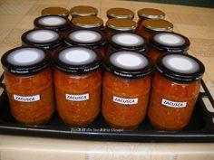 Zacusca de vinete - Bunătăți din bucătăria Gicuței Aries, Salsa, Jar, Roman, Food, Antipasto, Canning, Fine Dining, Eten