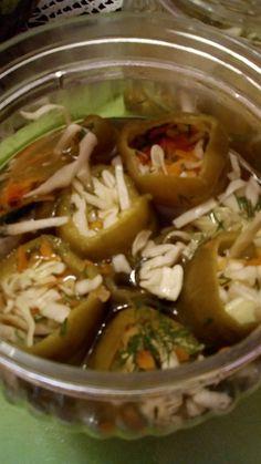 Ωραιότατες πιπεριές τουρσί Pickles, Soup, Beef, Ethnic Recipes, Meat, Soups, Pickle, Steak, Pickling