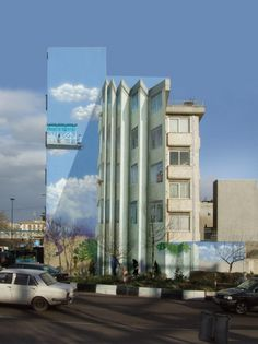 Les fresques en trompe loeil de Mehdi Ghadyanloo