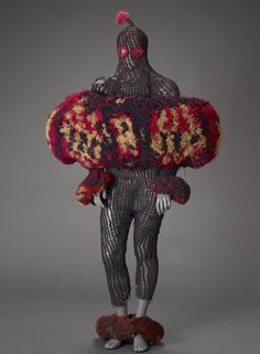 Masquerade body cover, 1900-88, Ejagham people, Nigeria to Northern Cameroon.