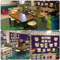 Classroom Organization:  Teacher Table