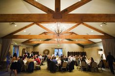 Rustic french great room at Ramekins in Sonoma - the perfect wedding spot!
