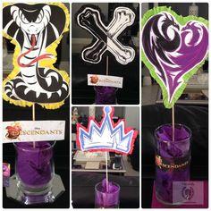Disney Villains Party + Free Descendants Printables ! Love My Silhouette!    Disney   Pinterest   Villains Party, Disney Villains And Descendants