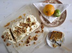 O Melhor Bolo de Cenoura com Especiarias e Lima * * The Best Carrot Cake with Spices and Lime