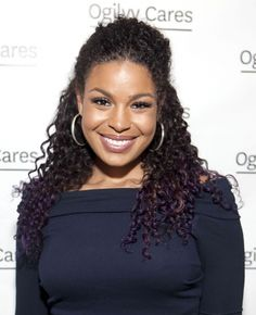 Jordin Sparks curly hairstyle