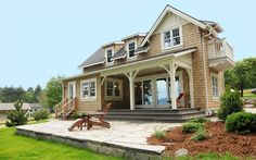 Cottage Series   Method Homes- this is a more classic style! So warm and inviting!