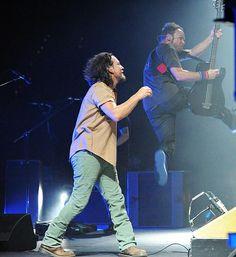 Jeff takes flight - by Pearl Jam 20th, via Flickr
