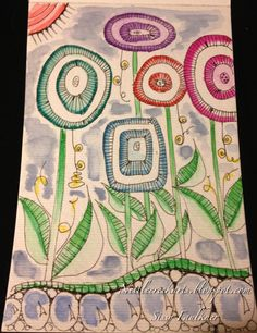 Zentangle - end of summer!